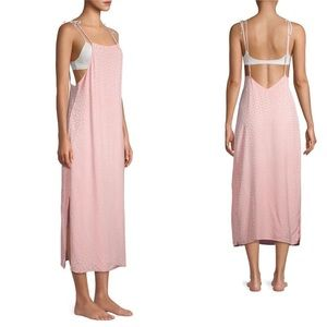 Onia Square Neck Pink Coverup